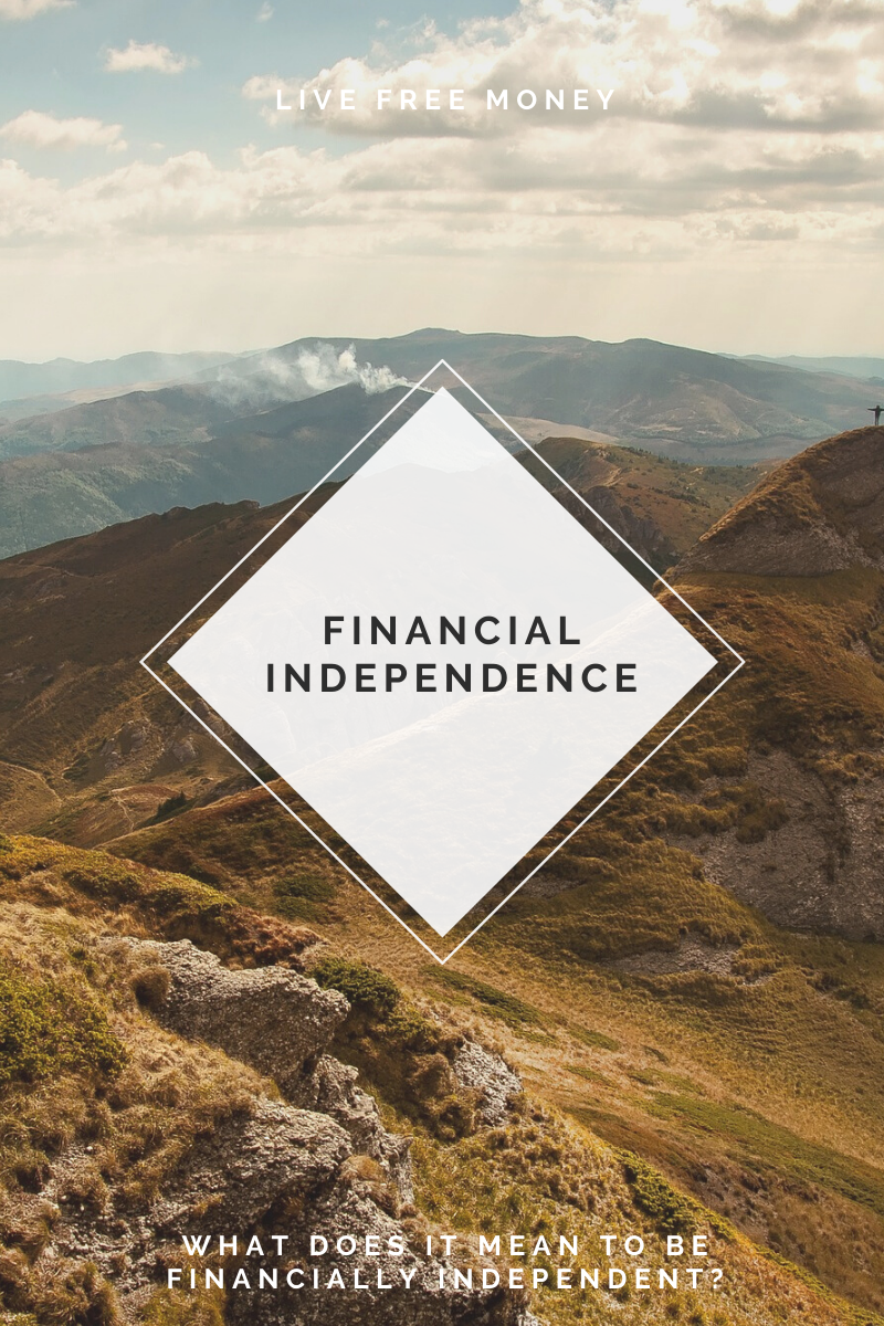 be financially independent logo