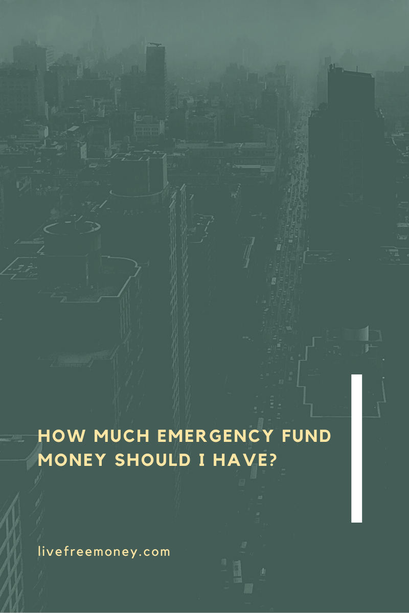 how much emergency fund money should I have logo