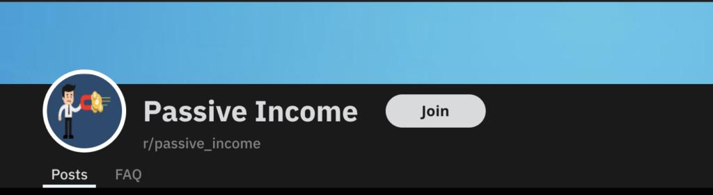 Passive Income Reddit Logo