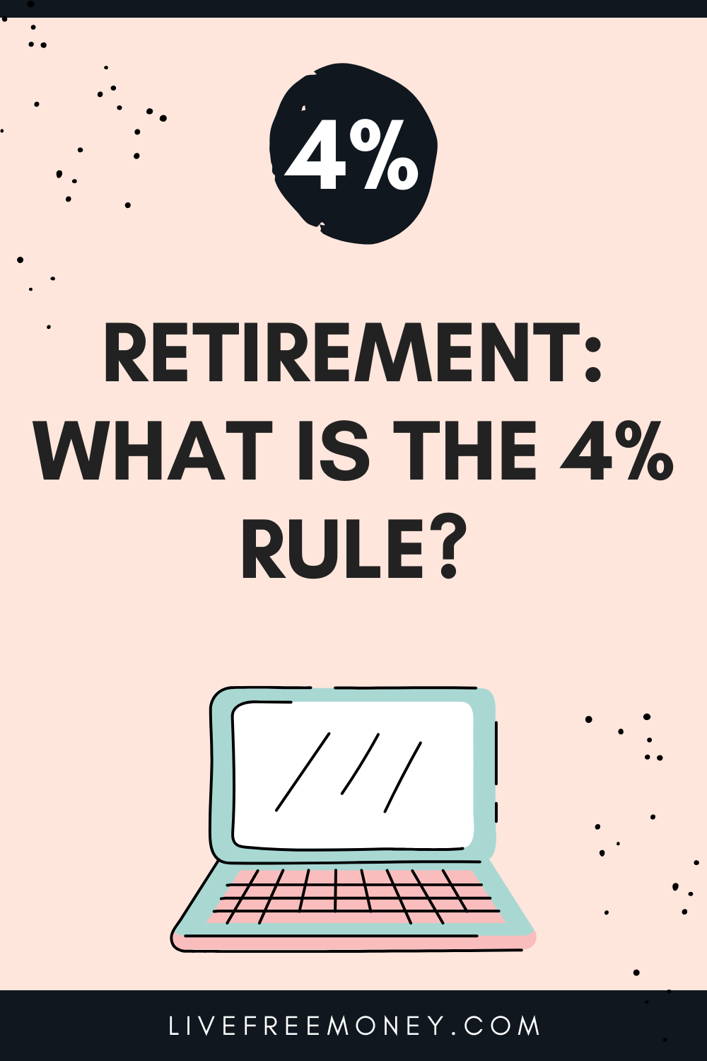 What is the four percent rule logo
