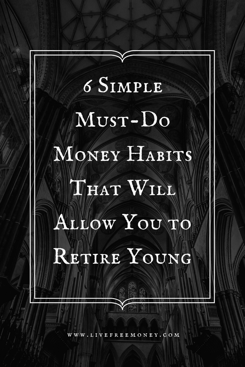 6 habits to retire young logo